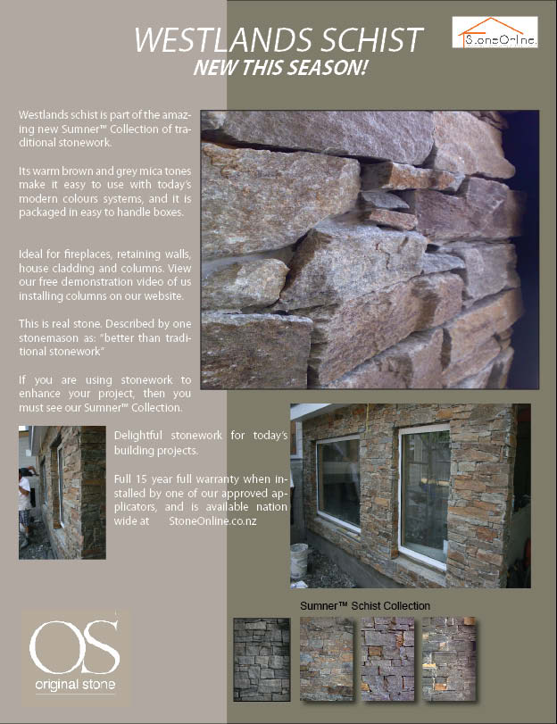 Westlands Schist Veneer Cladding Brochure